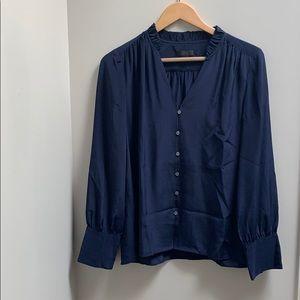 J. Crew Silk blouse